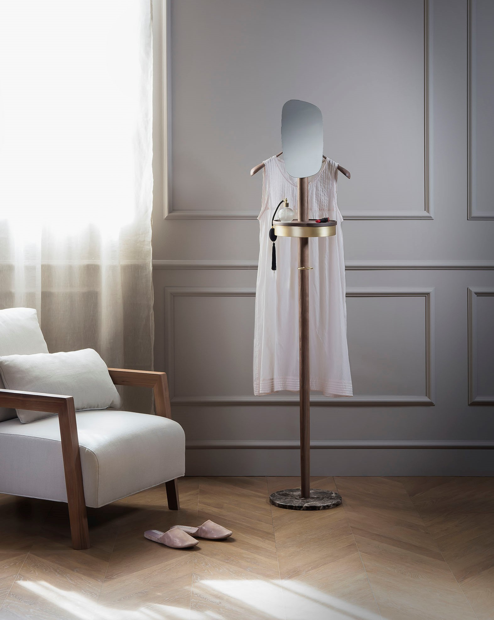 dress_sofa_wall_window_brass