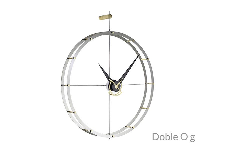 Design Graphite Metal Wall Clock
