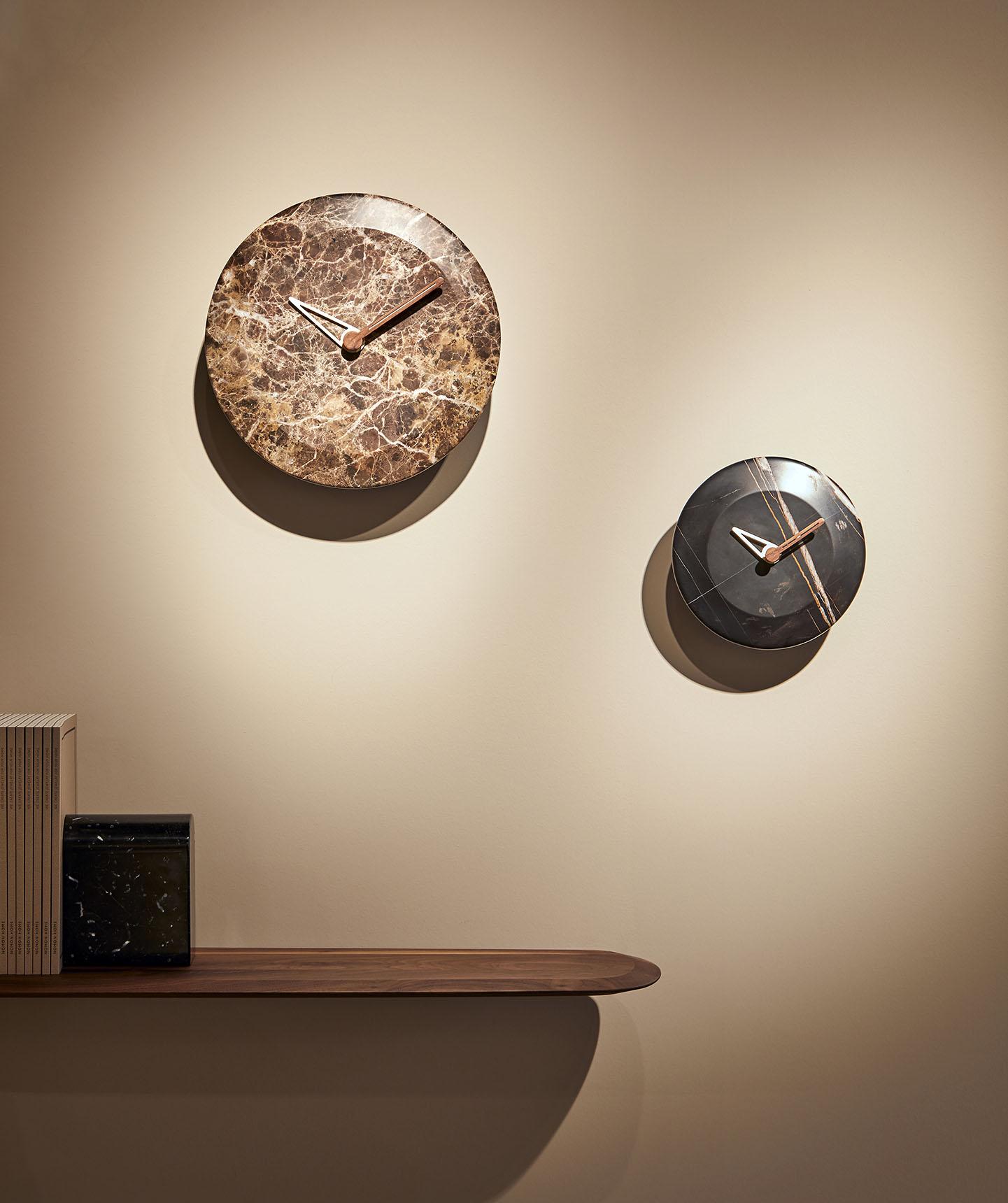 Hugo Nomon Clocks Marble
