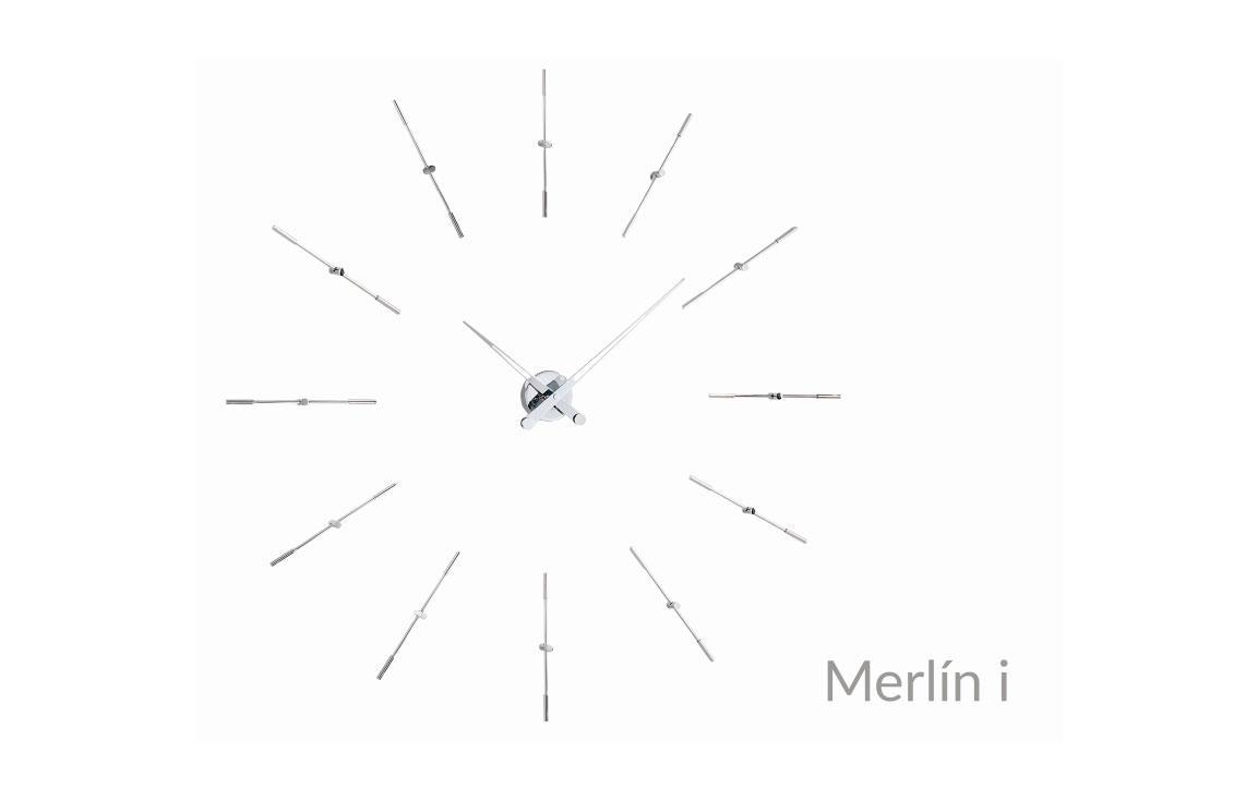 Design Inox Wall Clock