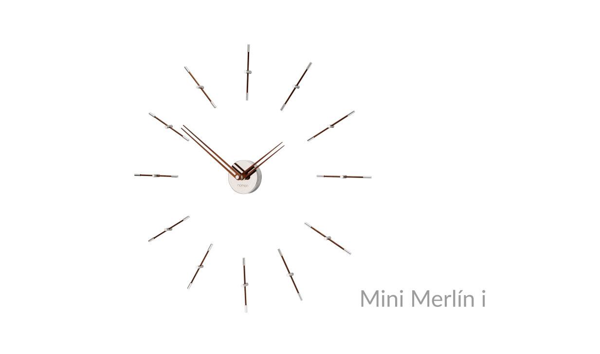 Mini Merlin Nomon Cloks Wallnut