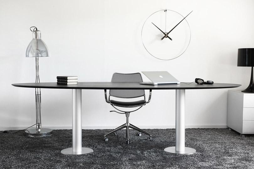 Design Wall Clock Inox