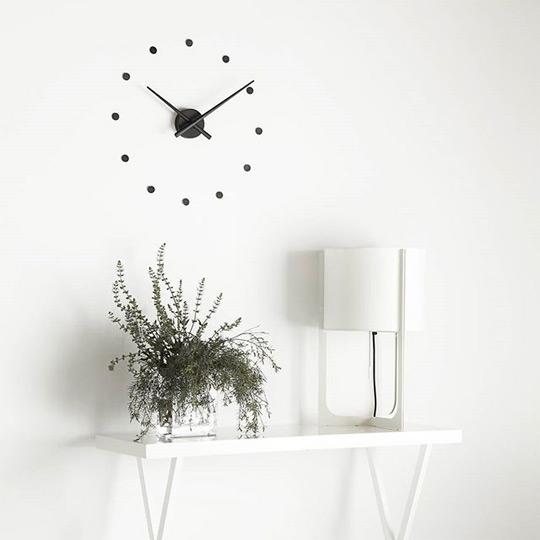 Oj Mini Nomon Clocks Black
