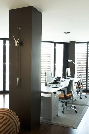 Inox Design Wall Clock Pendulum