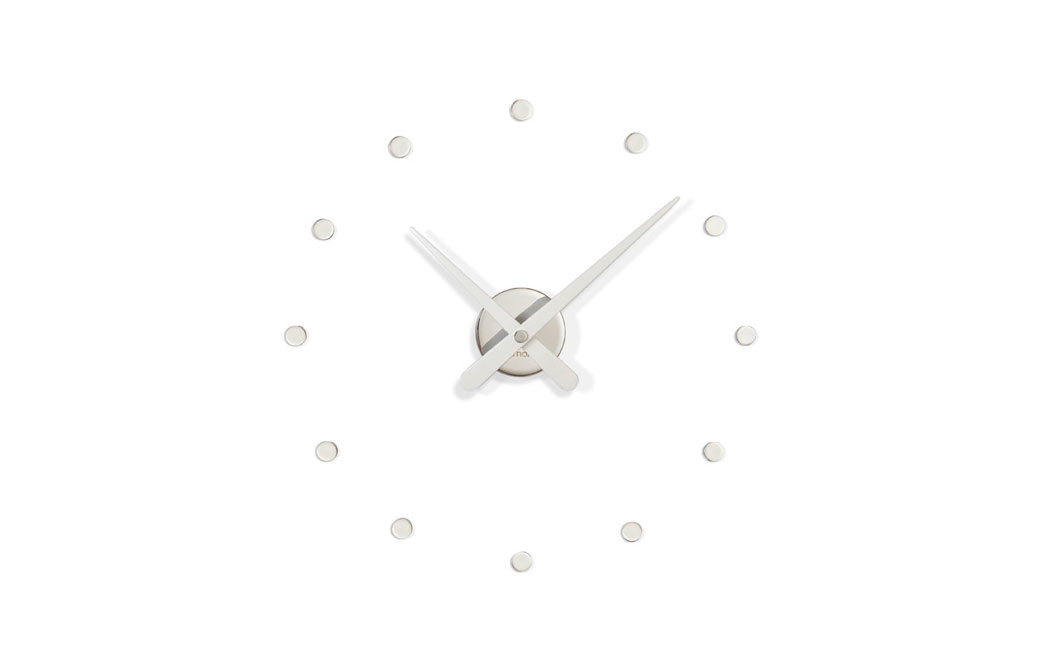 Rodon Mini Nomon Clocks White