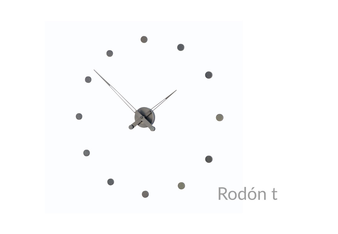 Graphite Design Wall Clock