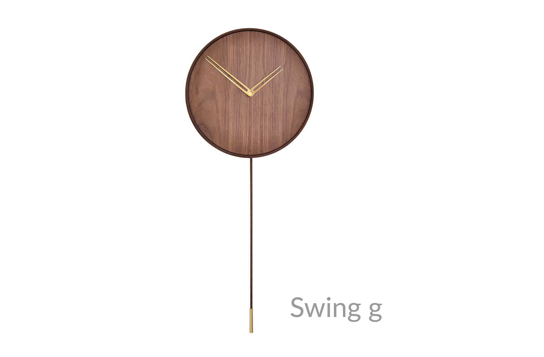 Swing Nomon Clocks Brass Hands