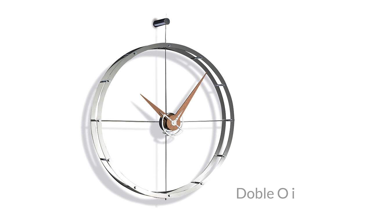 Design Metal Wallnunt Wall Clock