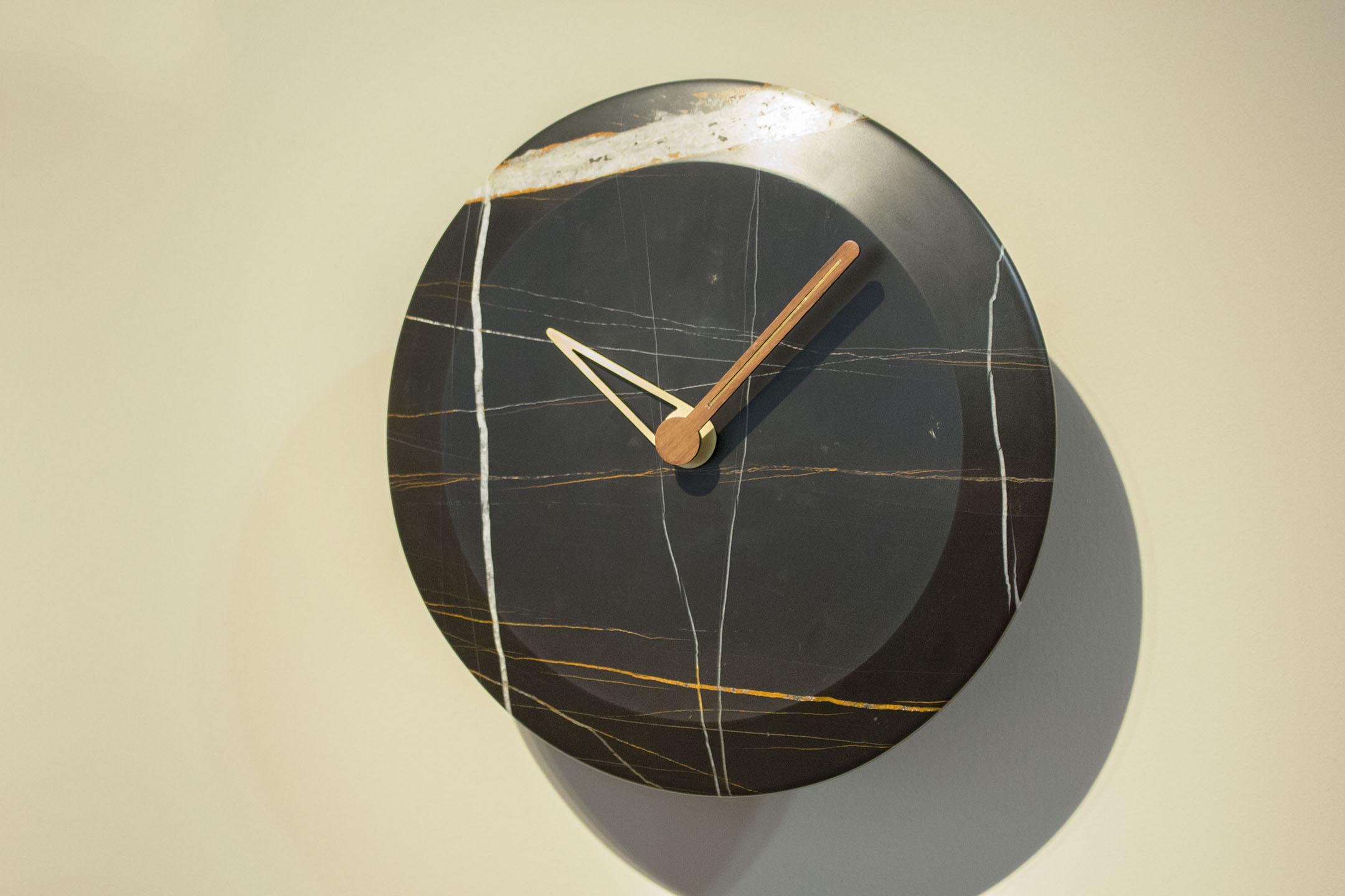 Sahara Marble Wall Clock