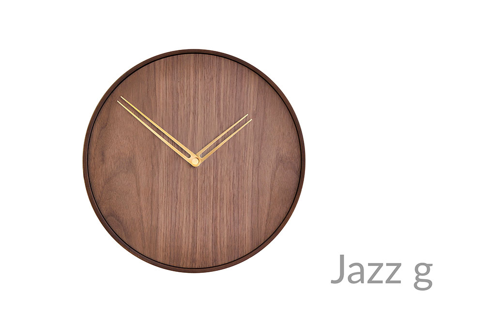 Jazz Nomon Clocks Brass