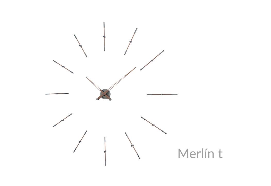 Design Graphite Wall Clock