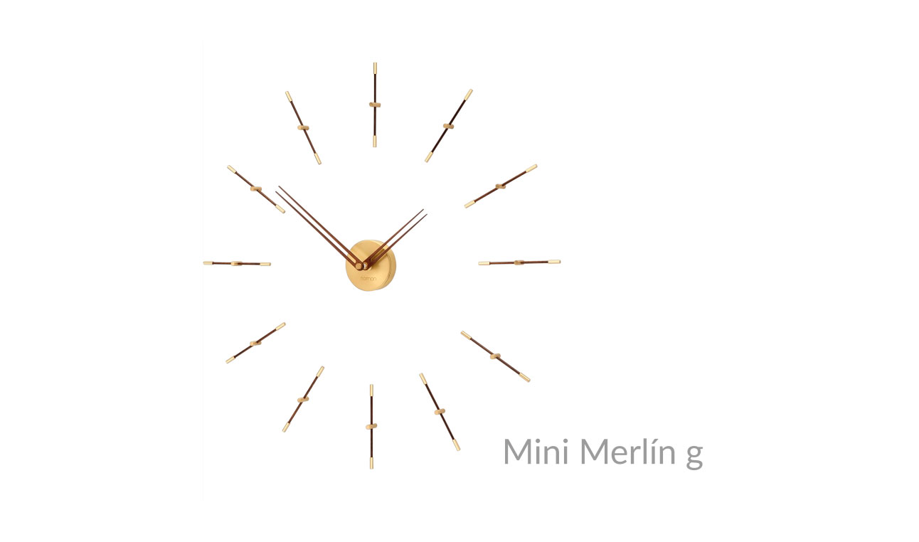 Design Brass Wall Clock