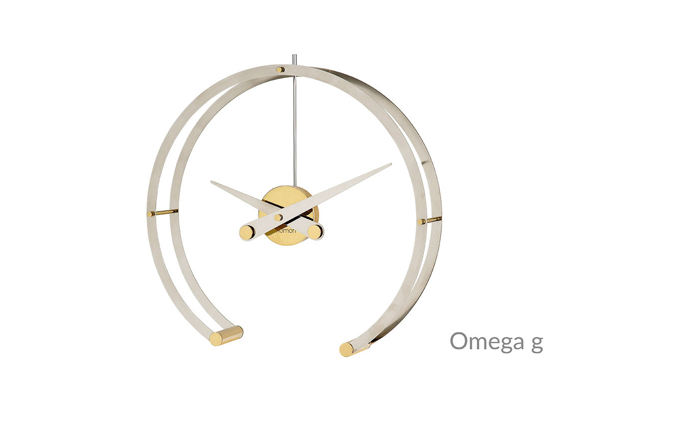 Omega Nomon Clocks Gold Inox