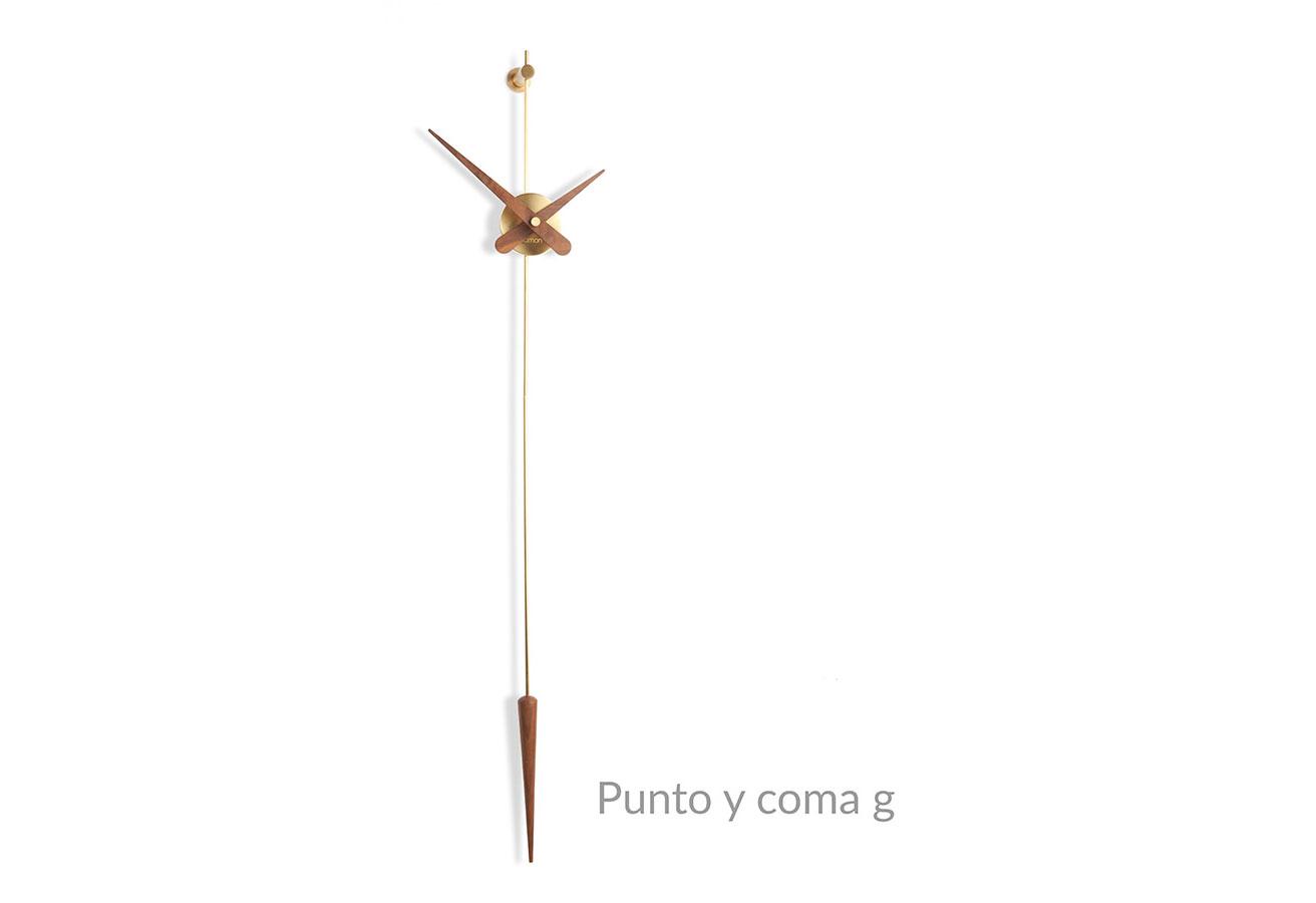 Punto Y Coma Nomon Clocks Brass