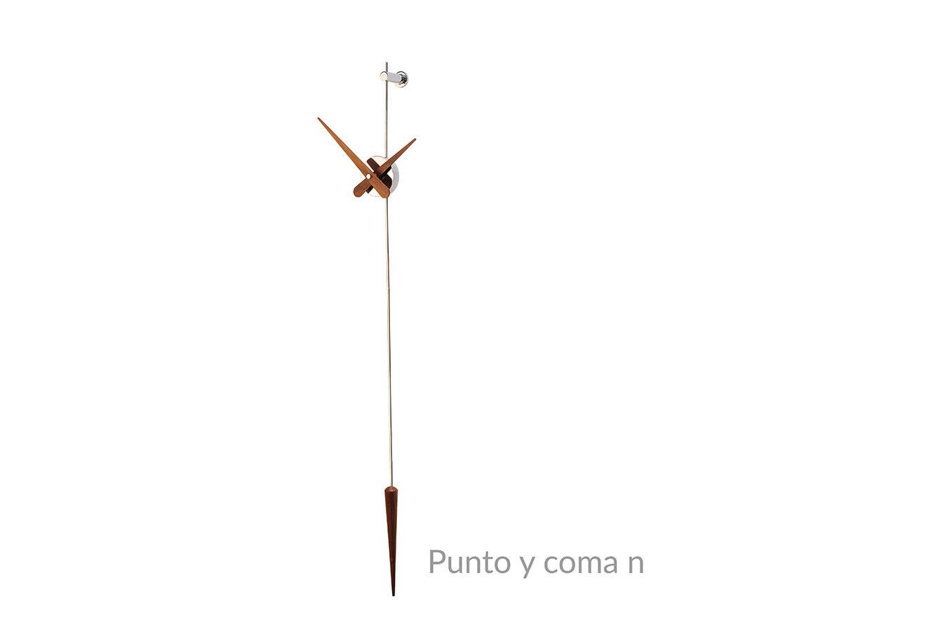 Punto Y Coma Nomon Clocks Wallnut