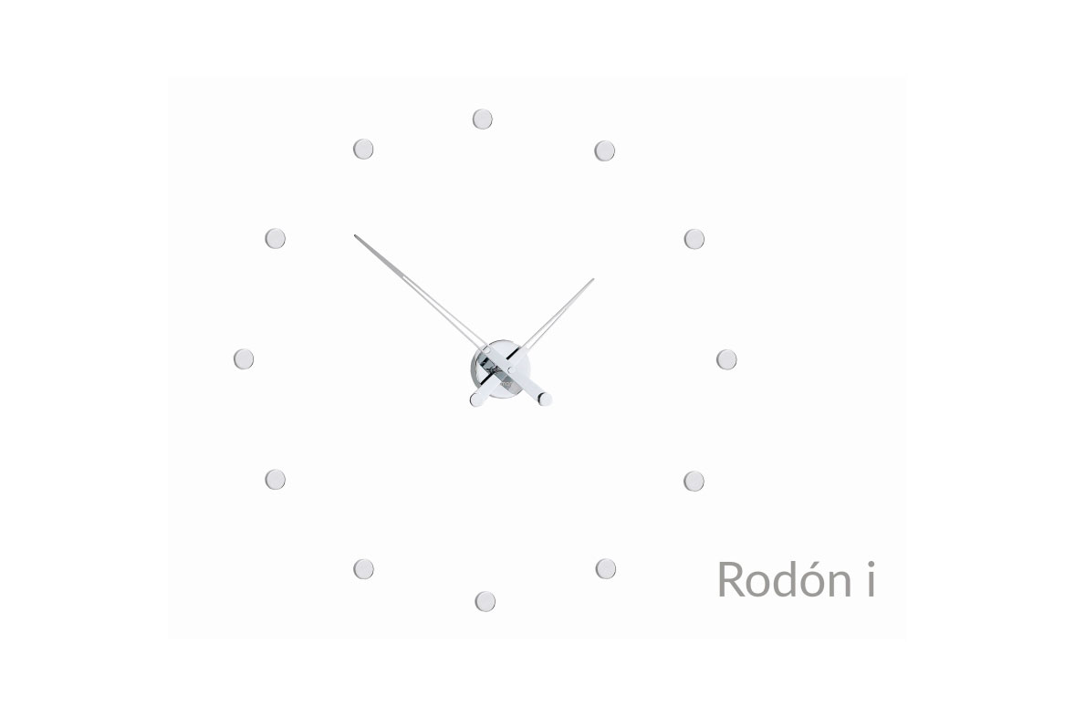 Inox Design Wall Clock
