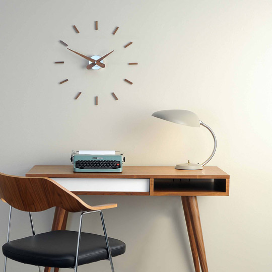 Inox Wood Wall Clock