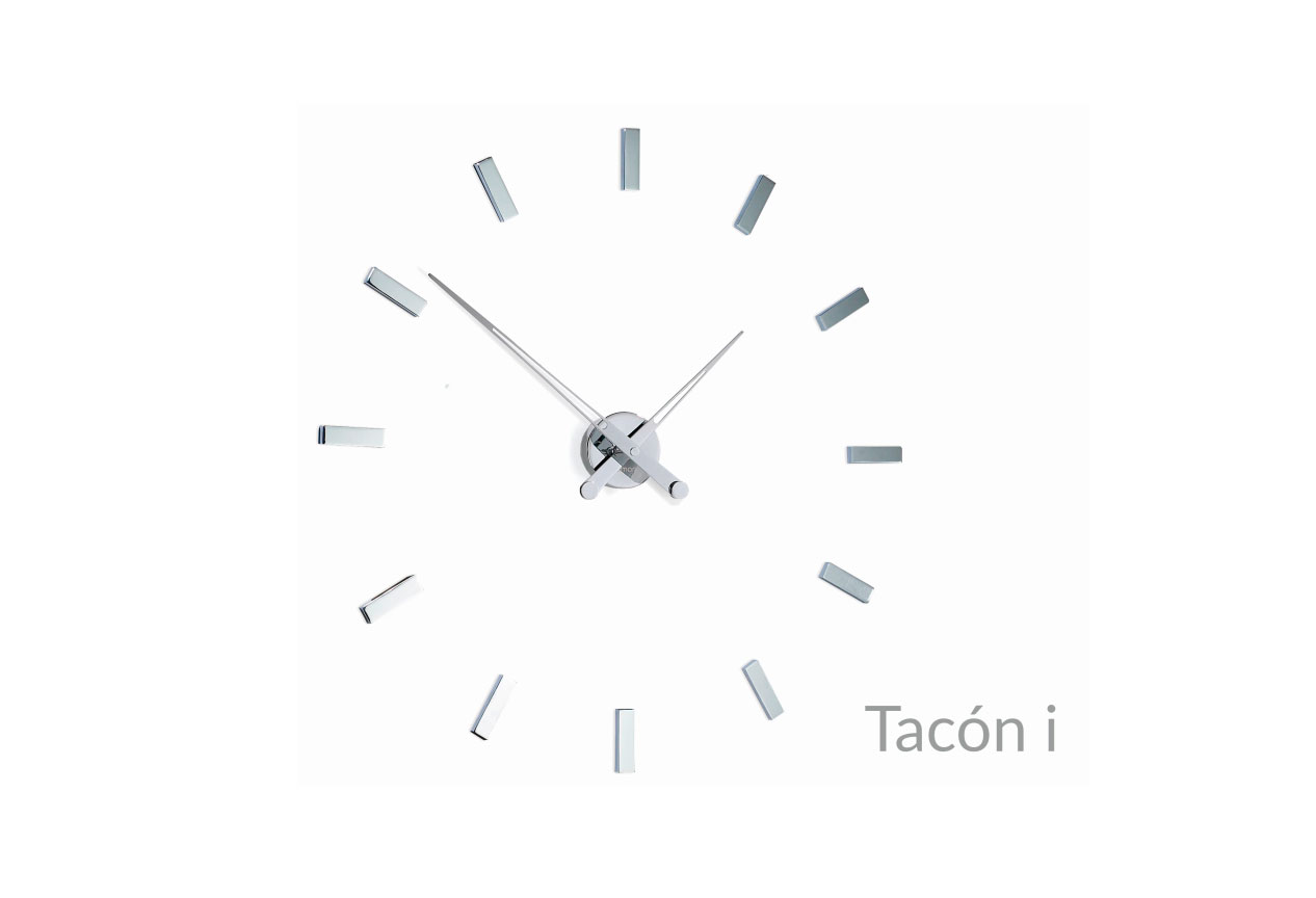Design Inox Wall Clock